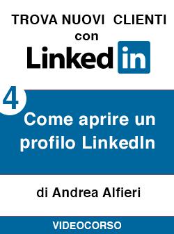 04 come aprire profilo Linkedin
