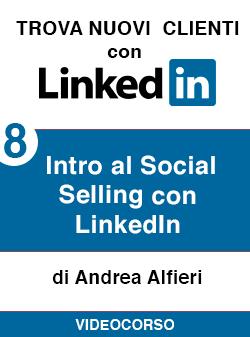 08 intro social selling su Linkedin