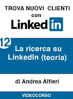 12 la ricerca teorica Linkedin