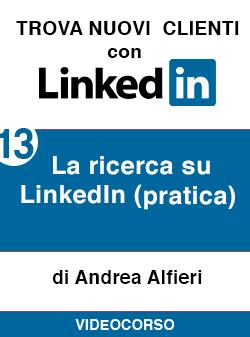 13 la ricerca pratica Linkedin