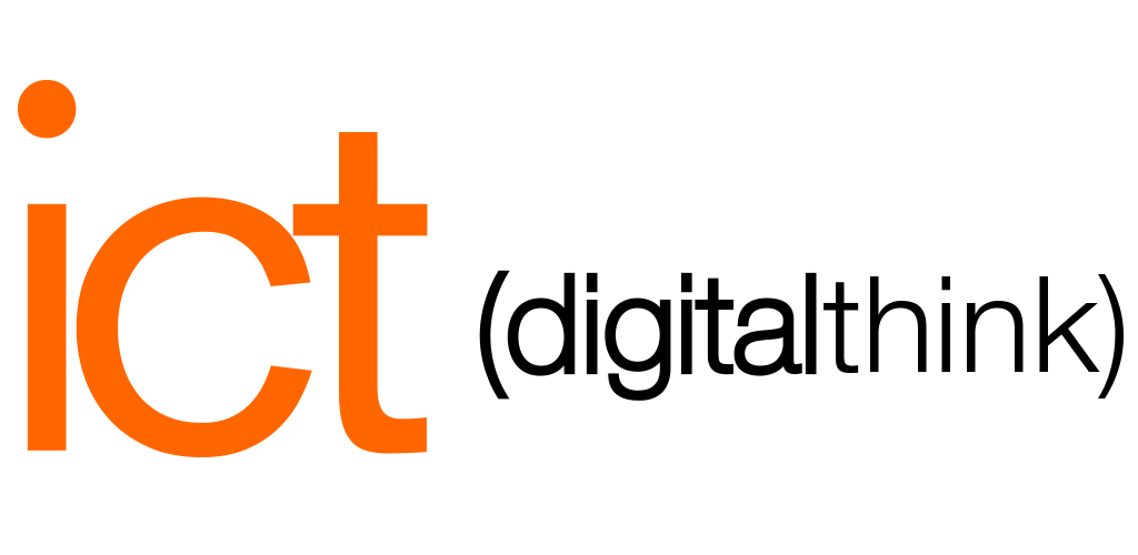 Logo ict (digital think)