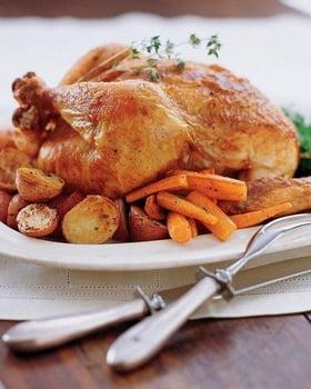 foto al cibo: pollo arrosto