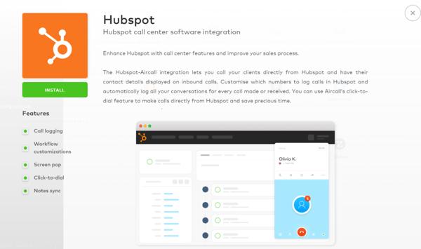 Integrazione in HubSpot Click