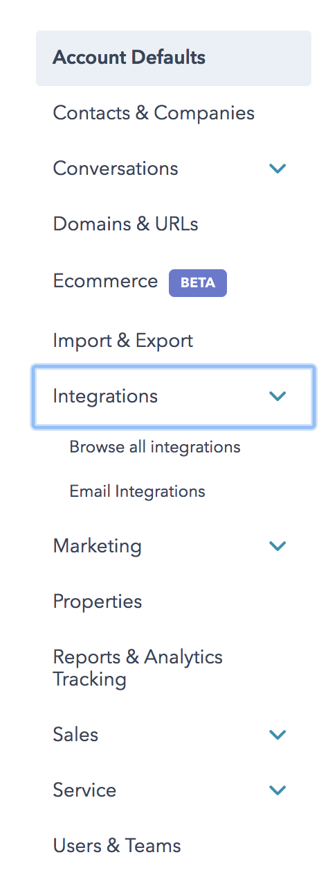 Settings-integrations-hubspot