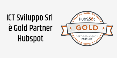 ICT Sviluppo Srl - GOLD partner Hubspot