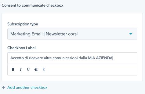 GDPR-e-form-hubspot-scelta-tipo-mail