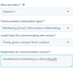 Newsletter-Hubspot-Shopify-impostazioni-registrazione
