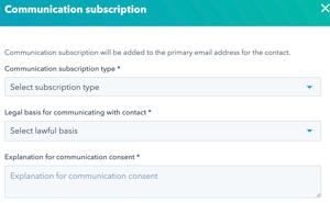 Newsletter-Hubspot-Shopify-iscrizione-comunicazioni