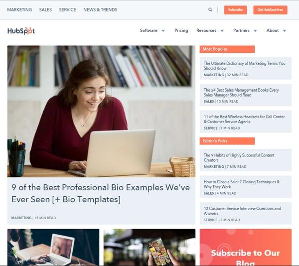 B2B-blog-hubspot