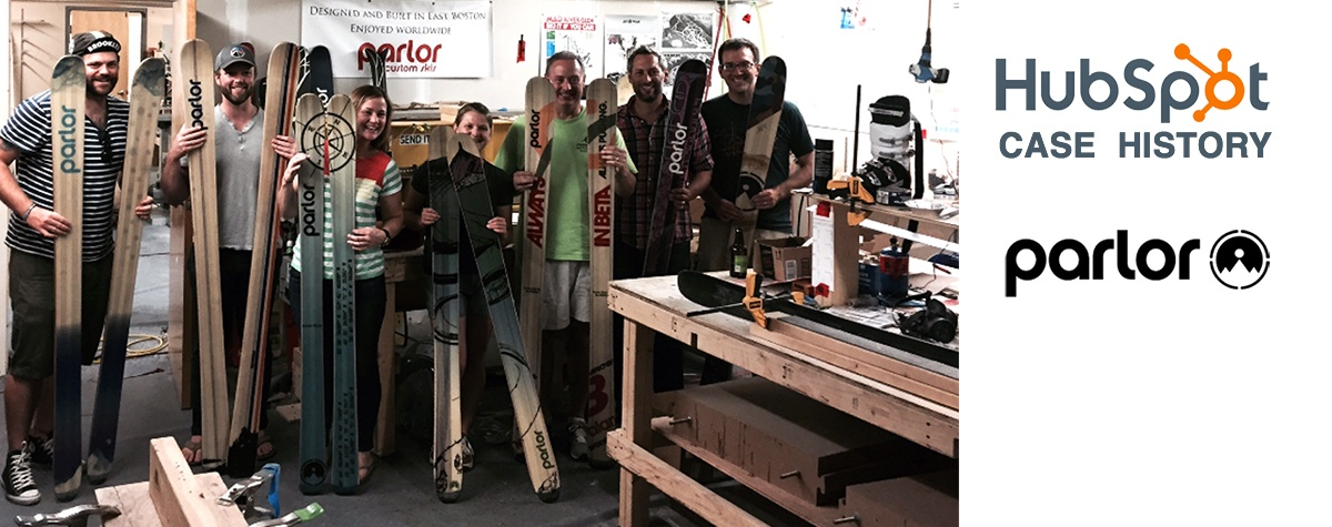 case history hubspot crm  parlor skis