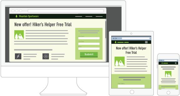 hubspot VS wordpress: design degli elementi