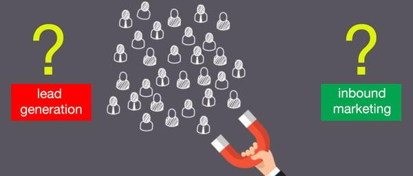 La differenza tra lead generation e inbound marketing