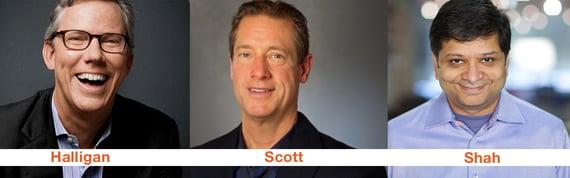 Inventori termine inbound marketing: Halligan, Scott, Shah