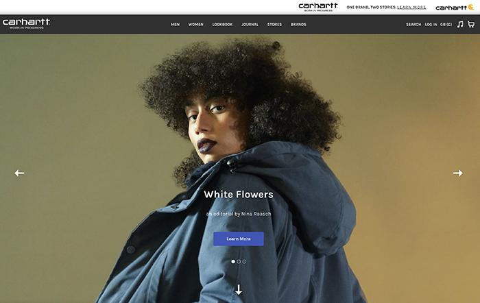 carhartt-wip.com  realizzato con shopify plus