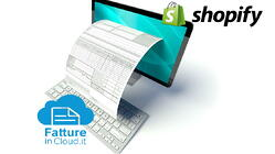 connettore shopify fatture in cloud