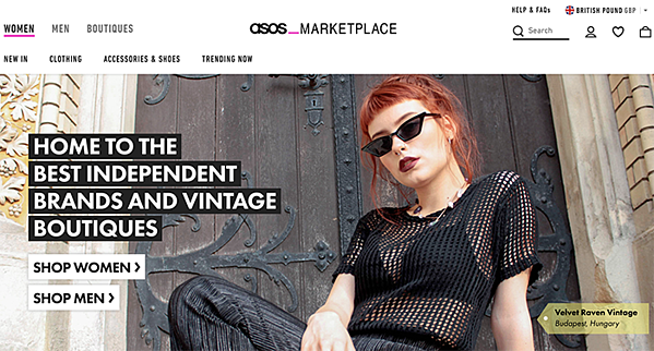european marketplace asos