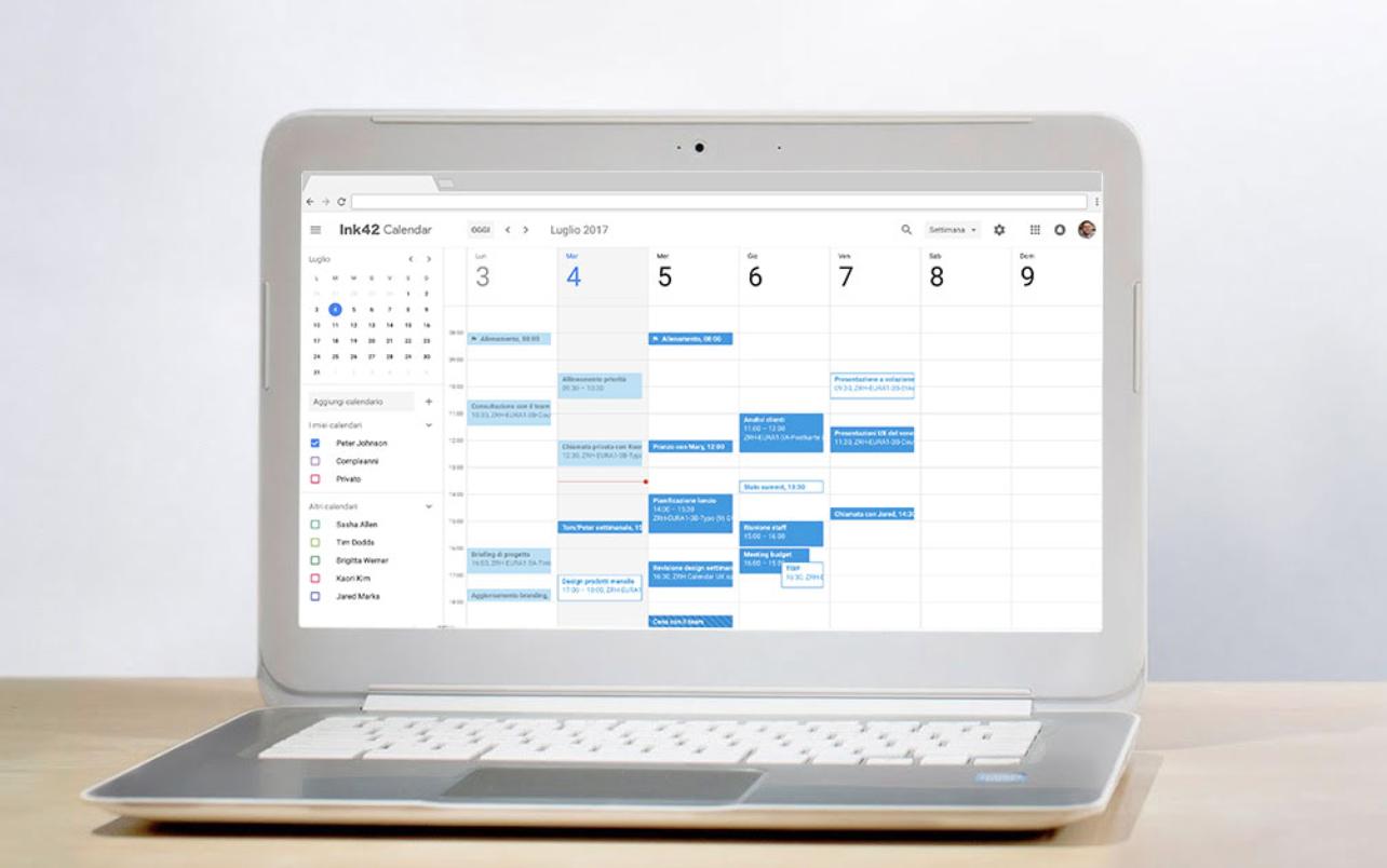 google calendar gsuite aziende