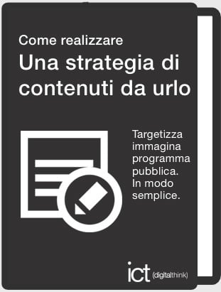 scarica libro strategia contenuti urlo - content marketing