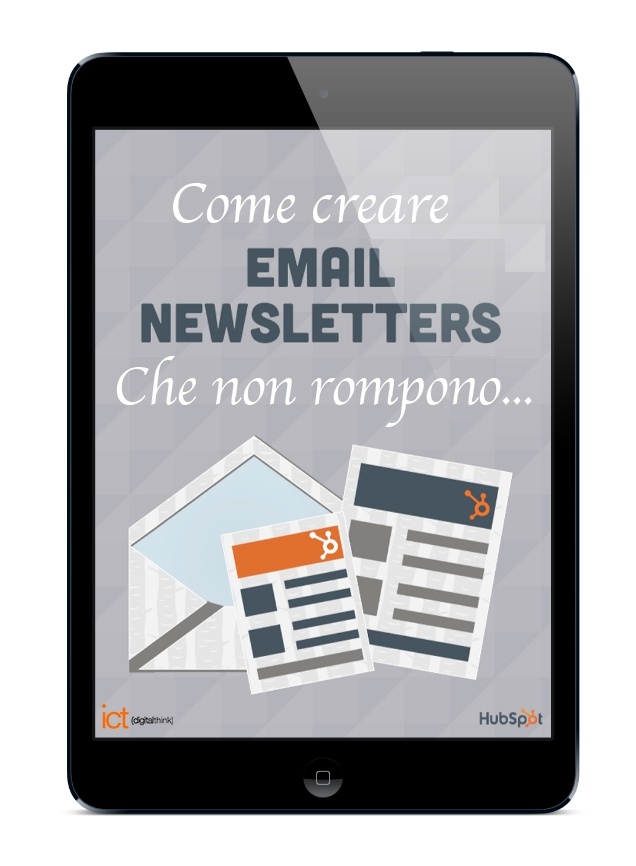 Ebook-Email-Newsletter