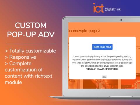Custom Pop-up Adv