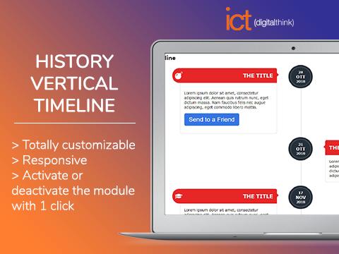 History vertical Timeline