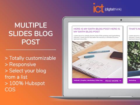 Multiple slides - blog post