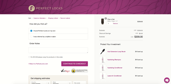 personalizzazione checkout shopify plus