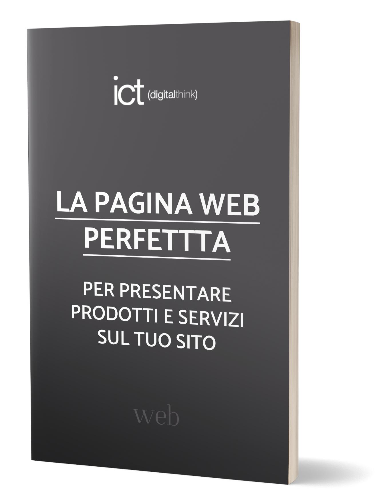 La PAGINA WEB PERFETTA per presentare prodotti e servizi con il sito web