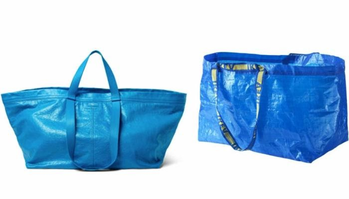 Risultati immagini per borsa blu Balenciaga